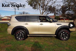 """Kut Snake Flares Suit Nissan GU Patrol 2016+ """"Front And Rear"""""""