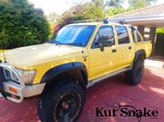 """Kut Snake Flares Suit Toyota Hilux Pre 2004 """"Front And Rear"""""""