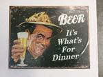 Beer Its What For Dinner