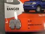 Seat Covers Suit Ford Ranger PX Series 1 Dual Cab