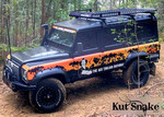 Kut Snake Front And Rear Flares Suit Landrover Defender 1988 - 2016 Copy