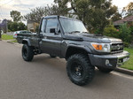 """Kut Snake Flares Suit Toyota Landcruiser 75/79 Pickup Series """"Front Only"""""""