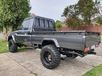 """Kut Snake Flares Suit Toyota Landcruiser 75/79 Pickup Series """"Front And Rear"""""""