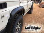 """Kut Snake Flares Suit Toyota Landcruiser 76 Series """"Front And Rear"""""""