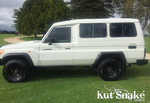 """Kut Snake Flares Suit Toyota Landcruiser 78 Series """"Front And Rear"""""""