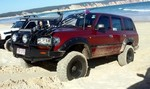 """Kut Snake Flares Suit Toyota Landcruiser 80 Series """"Front Only"""""""